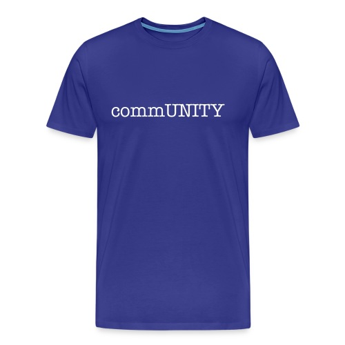Men's commUNITY t-shirt - Men's Premium T-Shirt