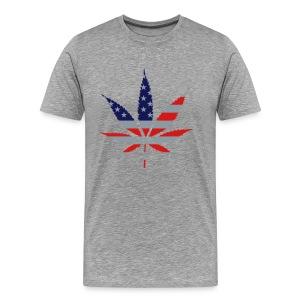 American Marijuana T-Shirt - Men's Premium T-Shirt