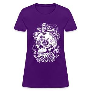 Sugar Skull of Death - Women's T-Shirt