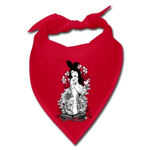 Tattooed Bunny Girl - Animal Instinct - Bandana