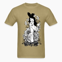Tattooed Bunny Animal T-Shirts
