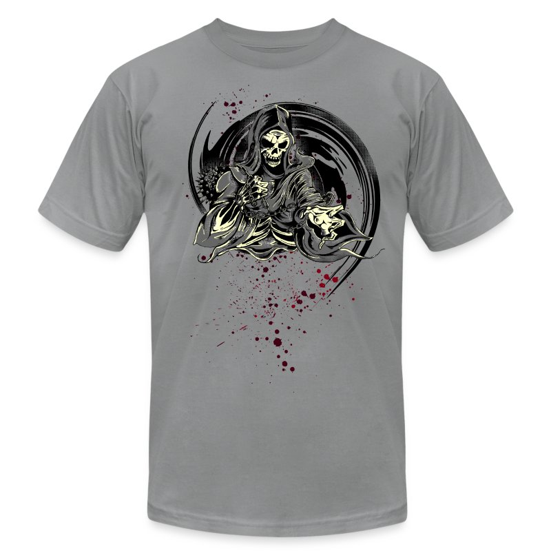 Grim Reaper - Men's T-Shirt by American Apparel