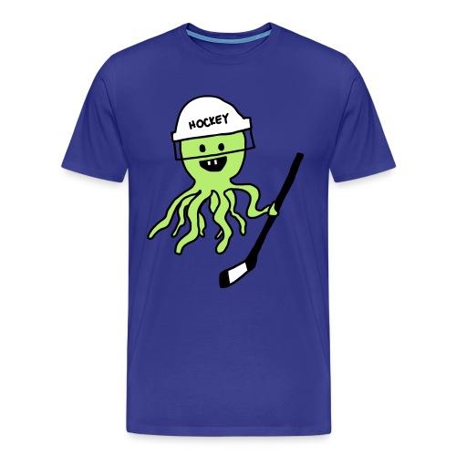 Hockey Octopus Men's T-Shirt - Men's Premium T-Shirt