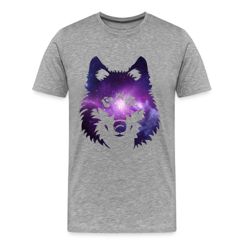 alpha wolf line - Men's Premium T-Shirt