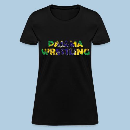 Women's Pajama Wrestling - Women's T-Shirt