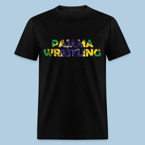 Men's Pajama Wrestling - Men's T-Shirt