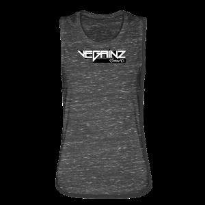 Vegainz Logo Women's Muscle Tank - Women's Flowy Muscle Tank by Bella