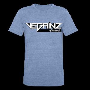 Vegainz Logo Men's T-Shirt - Unisex Tri-Blend T-Shirt