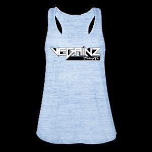Vegainz Logo Women's Racerback Tank - Women's Flowy Tank Top by Bella