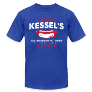 T-Shirts ~ Men's T-Shirt by American Apparel ~ Kessel's All-American