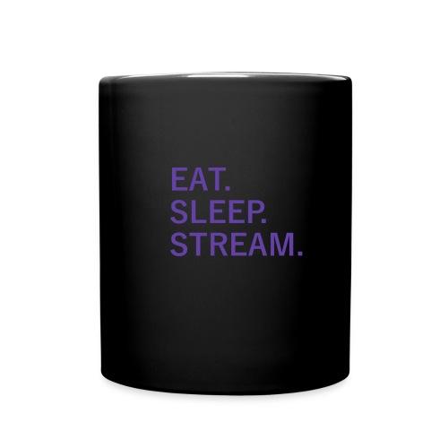 EAT. SLEEP. STREAM. Mug - Full Color Mug