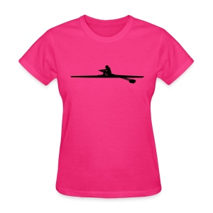 Rowing single - woman Women's T-Shirts - Women's T-Shirt
