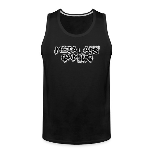 metal ass gaming glow.png - Men's Premium Tank