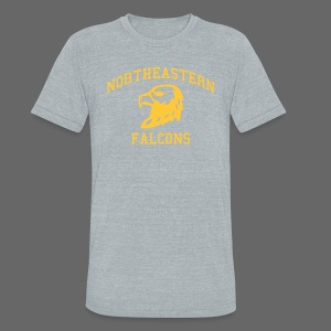 Northeastern High - Unisex Tri-Blend T-Shirt by American Apparel