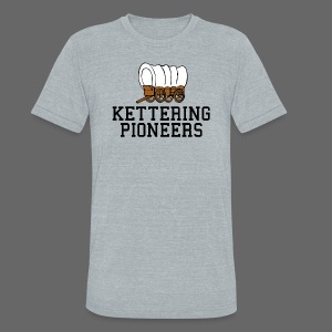 Kettering High - Unisex Tri-Blend T-Shirt by American Apparel