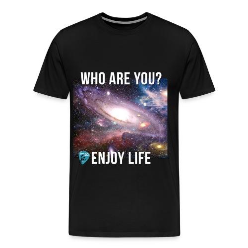 Men's Who Are You Shirt - Men's Premium T-Shirt