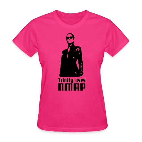 Trinity uses Nmap - Women's T-Shirt