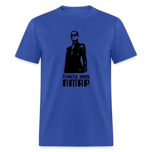 Trinity uses Nmap - Men's T-Shirt