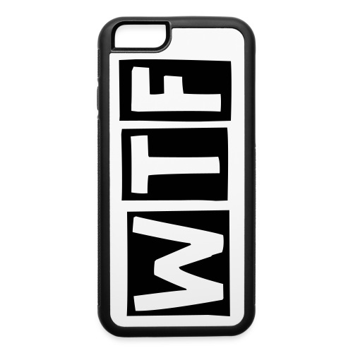 WTF - iPhone 6/6s Rubber Case