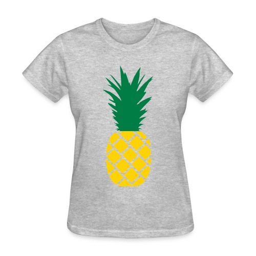 Large Pineapple  - Women's T-Shirt