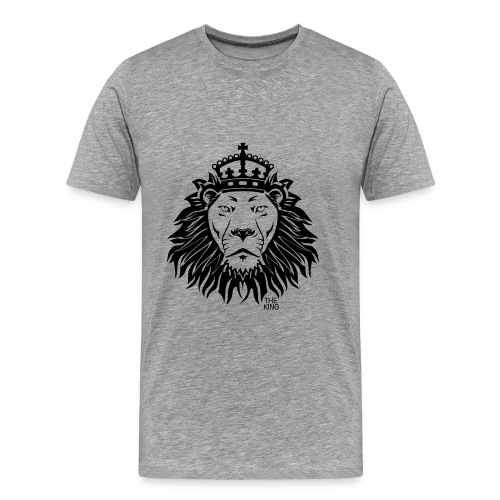 King. Lion - Men's Premium T-Shirt