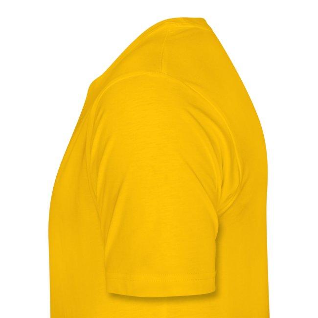 Big logo shirt - yellow