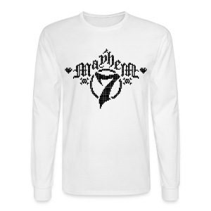 MayheM-7 - Pixel 1 B - Men's Long Sleeve T-Shirt