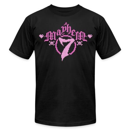 MayheM-7 - Pixel 1 P - Men's Fine Jersey T-Shirt