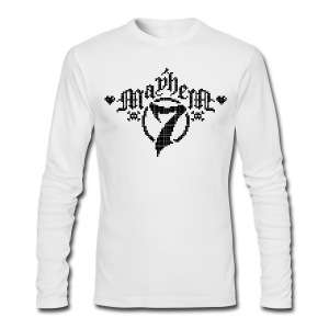 MayheM-7 - Pixel 1 B - Men's Long Sleeve T-Shirt by Next Level