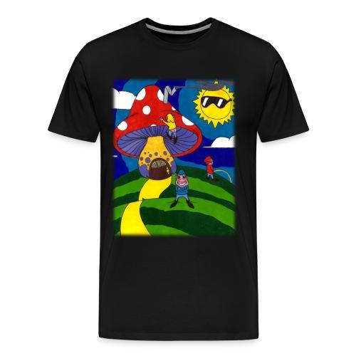three runts - Men's Premium T-Shirt