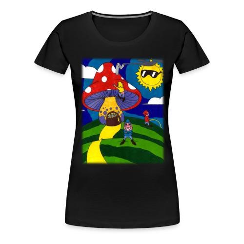 three runts womens - Women's Premium T-Shirt