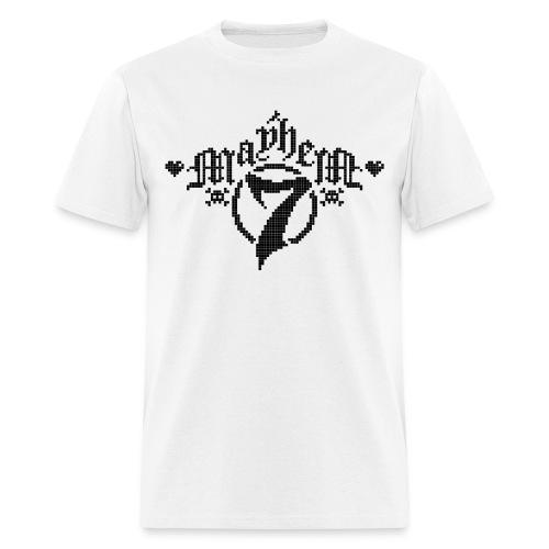 MayheM-7 - Pixel 1 B - Men's T-Shirt
