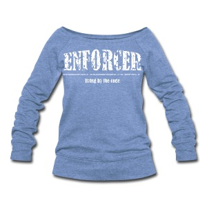 Enforcer-Wideneck Sweatshirt - Women's Wideneck Sweatshirt