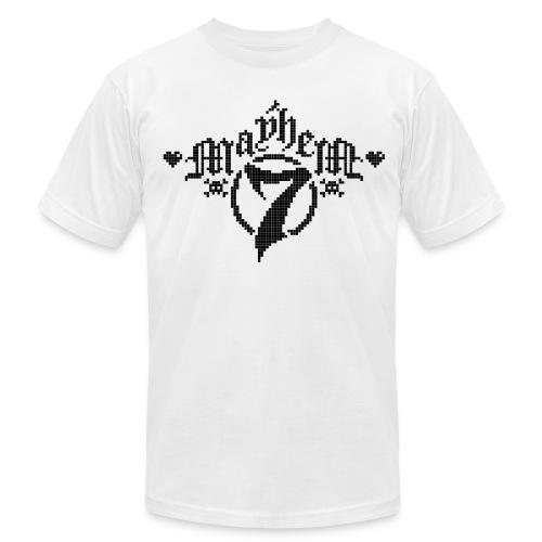 MayheM-7 - Pixel 1 B - Men's Fine Jersey T-Shirt