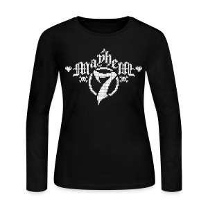 MayheM-7 - Pixel 1 W - Women's Long Sleeve Jersey T-Shirt