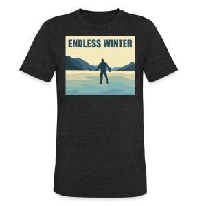 Endless Winter-Unisex T-Shirt - Unisex Tri-Blend T-Shirt by American Apparel