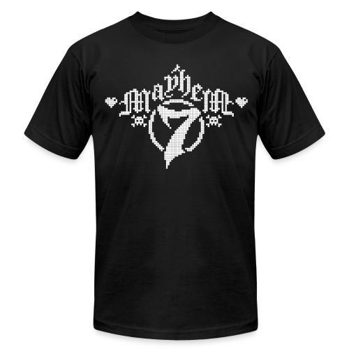 MayheM-7 - Pixel 1 W - Men's Fine Jersey T-Shirt