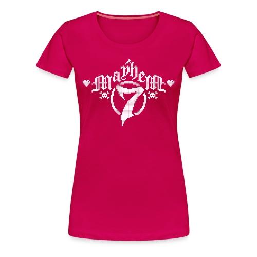MayheM-7 - Pixel 1 W - Women's Premium T-Shirt