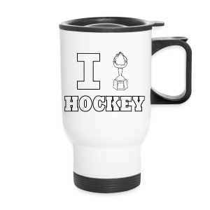 I Hart Hockey-Travel Mug - Travel Mug