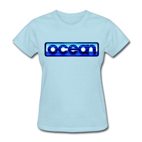 Ocean Logo - Women's T-Shirt