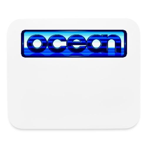 Ocean Logo - Mouse pad Horizontal