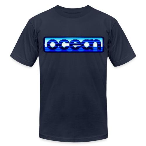 Ocean Logo - Men's Fine Jersey T-Shirt