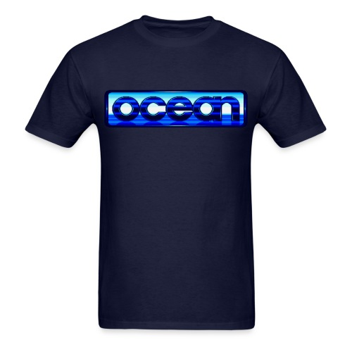Ocean Logo - Men's T-Shirt