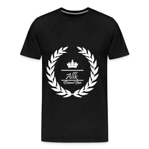 Allk T-shirt Crown - Men's Premium T-Shirt