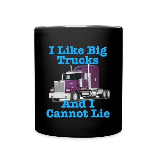 I like big trucks - Full Color Mug