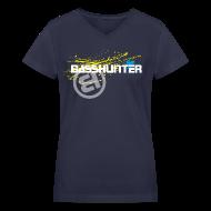 T-Shirts ~ Women's V-Neck T-Shirt ~ Basshunter #7 - Girls