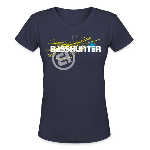 Basshunter #7 - Girls - Women's V-Neck T-Shirt