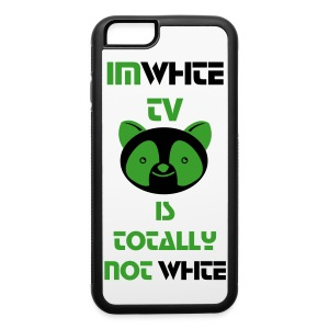 IMWHITE TV IS TOTALLY NOT WHITE iPhone 6 Case - iPhone 6/6s Rubber Case