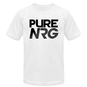 T shirt PureNRG Black - Men's T-Shirt by American Apparel