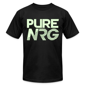 T Shirt PureNRG Glow In The Dark - Men's T-Shirt by American Apparel